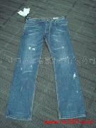 活泼男孩牛仔裤-女式牛仔裤