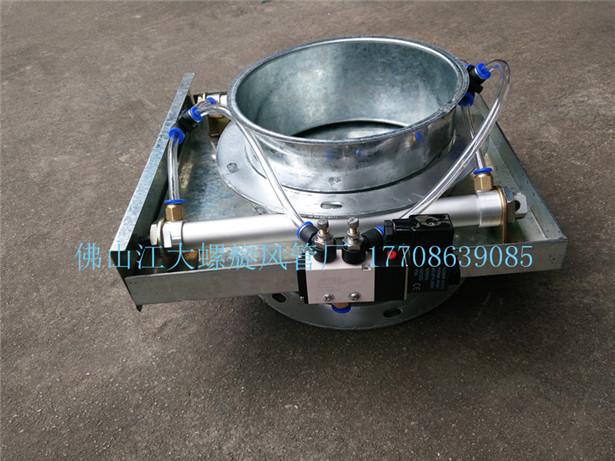 定制镀锌螺旋风管白铁皮排风管 工业除尘排烟通风圆形铁管道