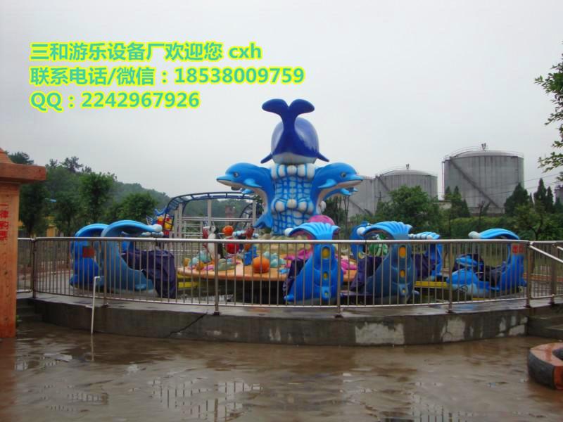 室外兒童好玩的游樂設備鯊魚島廠家*** 公園游樂設備
