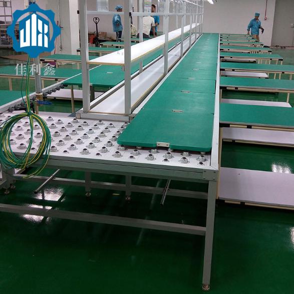 深圳東莞惠州廣州凈水器空氣凈化器手推組裝測試包裝生產線