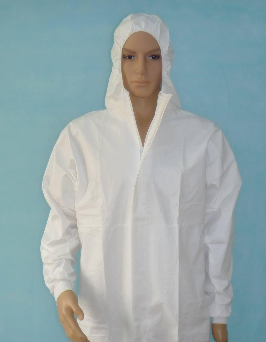 防护服面料透气pe膜复合无纺布