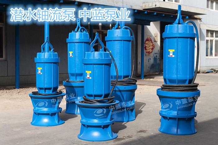600QZB-50/70/100/125/160型潛水軸流泵