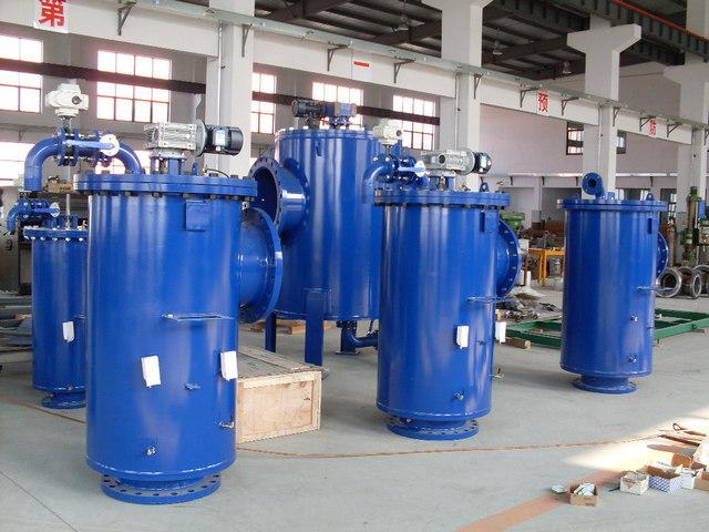 全自動排污過濾器-上海松巖機電設備成套有限公司