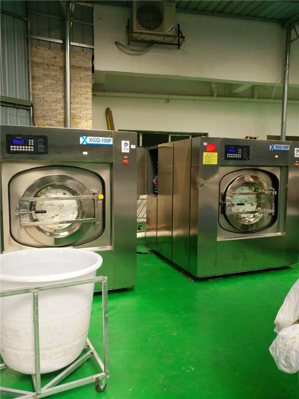 賓館床單洗衣機 酒店被套洗滌烘干設備廠家