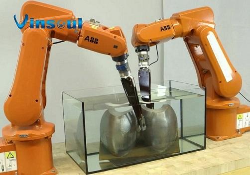供應機器人超聲相控陣水浸自動化探傷檢測系統