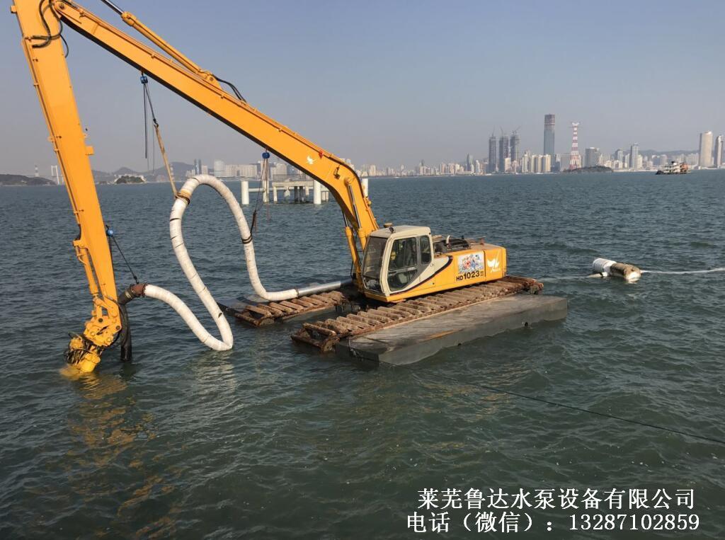 平地快速抽沙機-挖機安裝吸砂泵