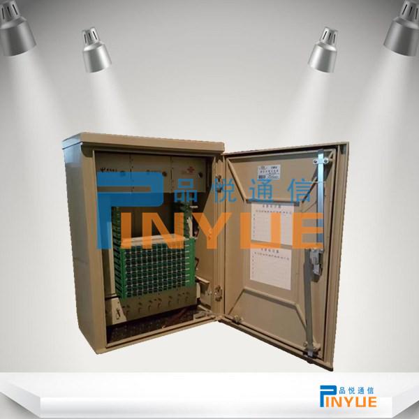 壁挂式144芯三网合一交接箱SC配置介绍
