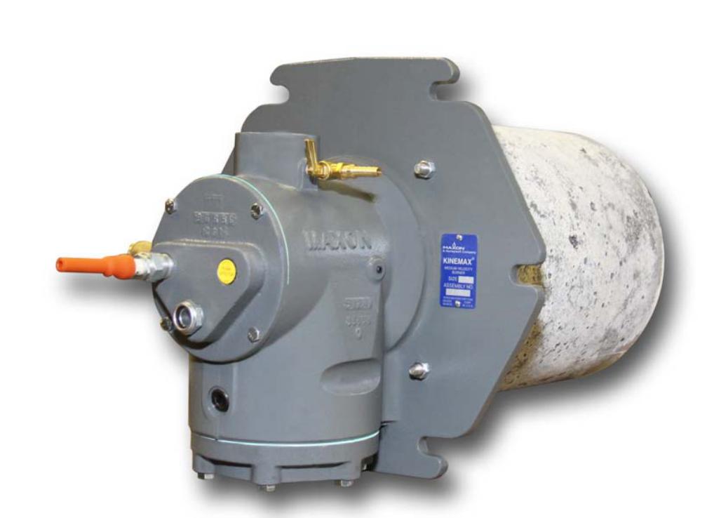 廢氣處理設備麥克森燃燒器