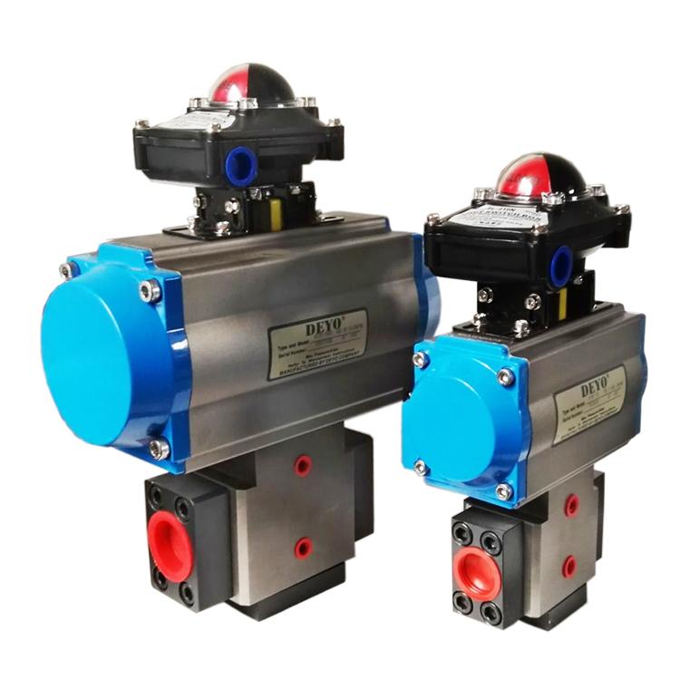 聚氨酯设备高低压转换阀气动高低压阀DN16换向阀
