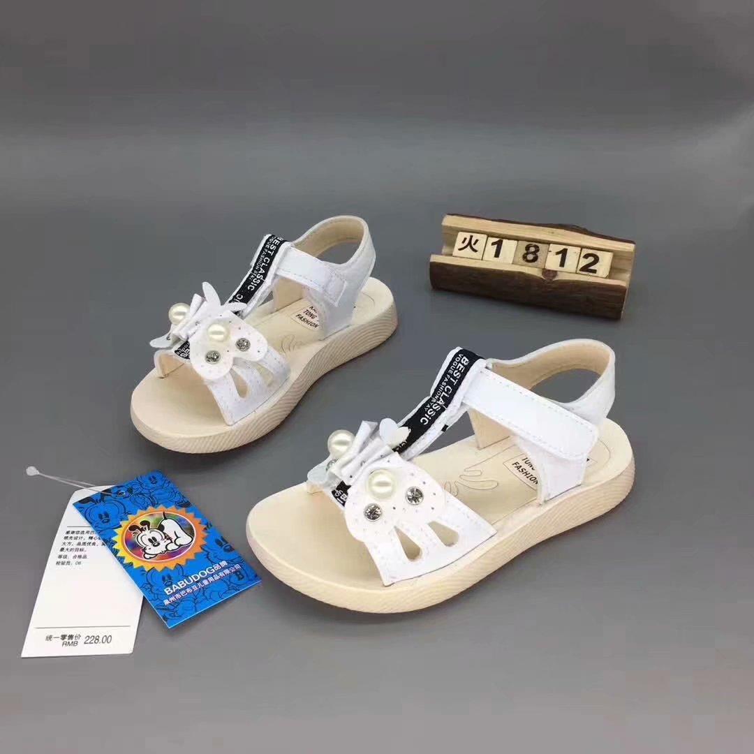 新款巴布豆涼鞋溫州童鞋批發