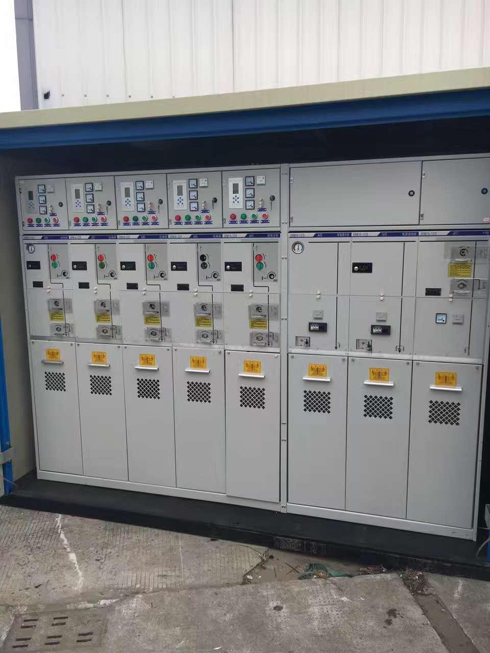 SRM16-12气体绝缘环网柜、SMC全绝缘充气柜