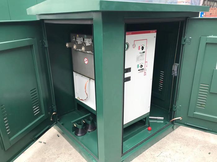 高压电缆分接箱、一进三出带开关DFW-12欧式电缆分支箱