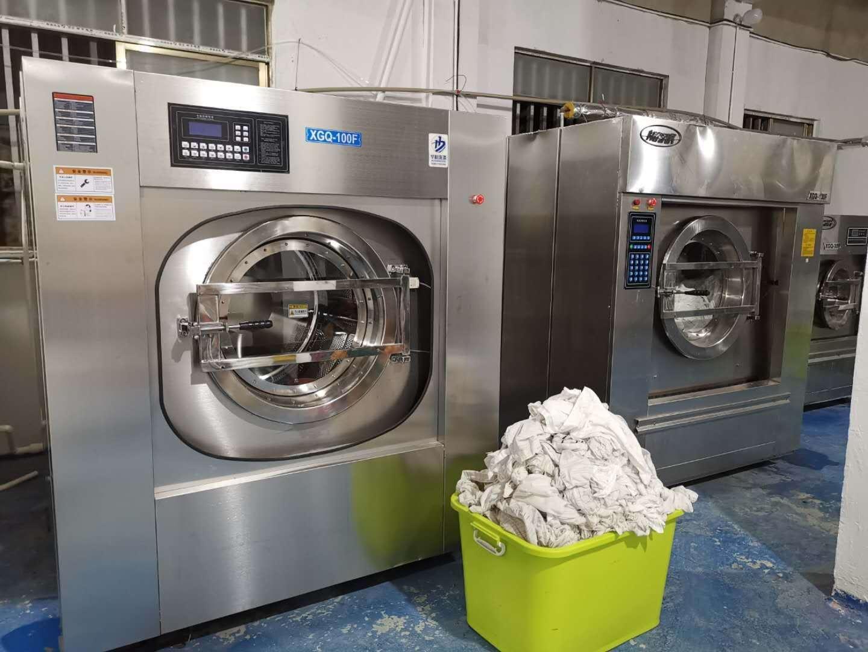 大型酒店賓館布草洗滌廠配置洗衣烘干機設備