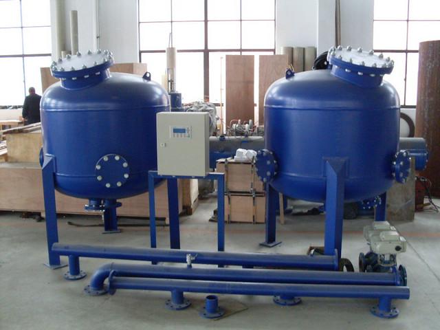 淺層多介質砂濾器-上海松巖機電設備成套有限公司