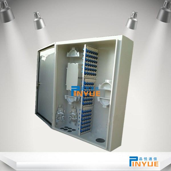 室外144芯光纤网络箱防水安装介绍