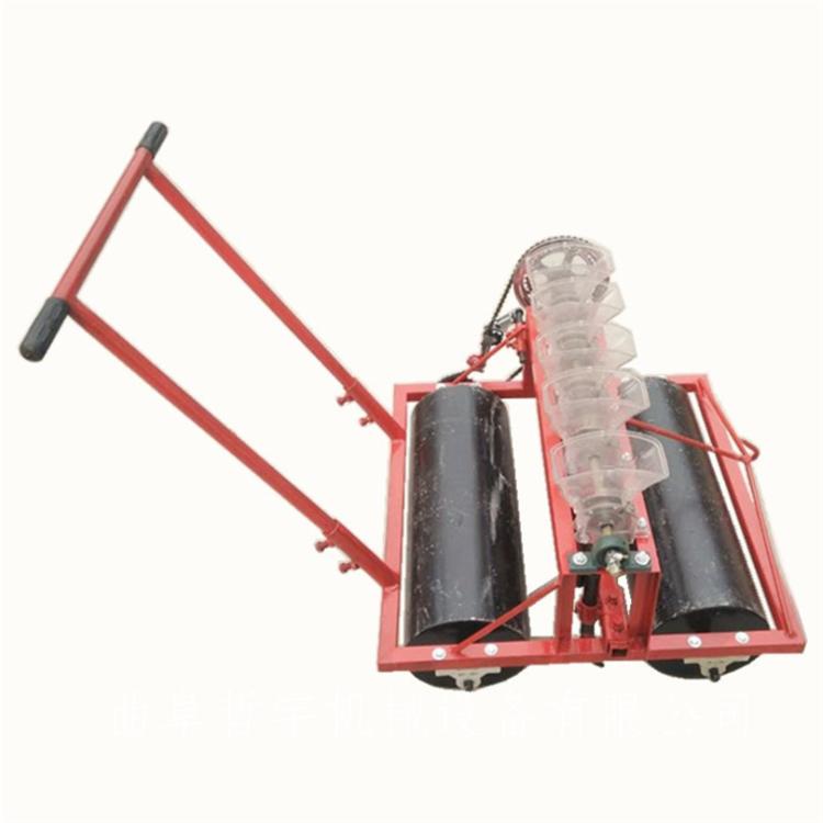 手推电动汽油自走式蔬菜播种机 中草药精播机 蔬菜精密播种机