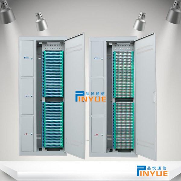 室内684芯三网合一ODF光纤配线架直插式安装介绍
