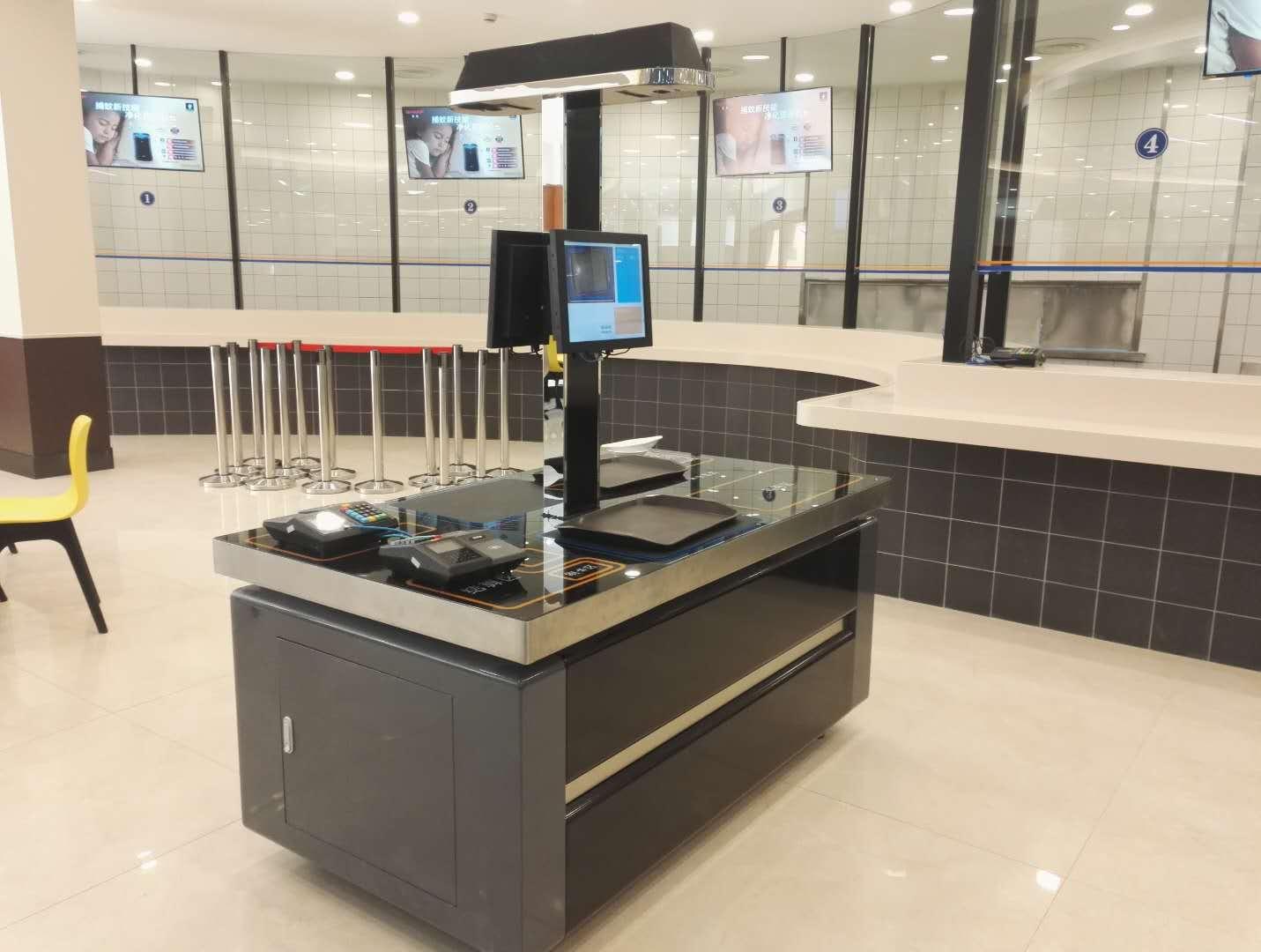 戈子科技2020智慧食堂无需加芯片视觉结算台