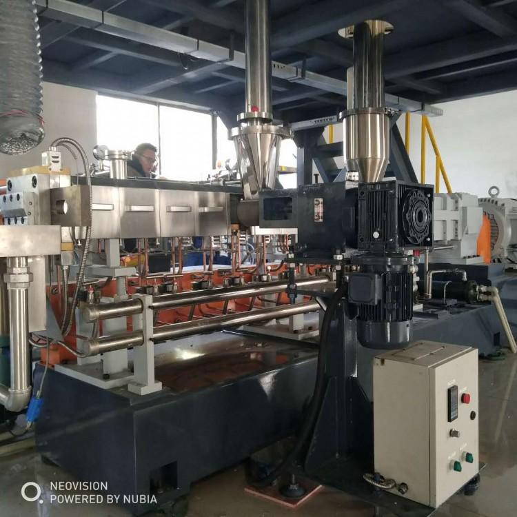 南京棉亚JSH-40中速高扭双螺杆塑料改性造粒机
