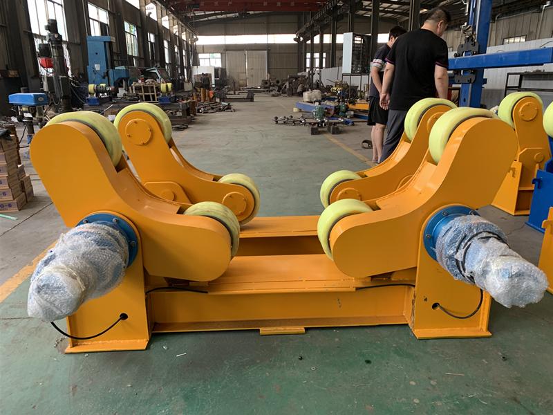 哪里賣30噸50噸60噸焊接滾輪架大型罐體焊接