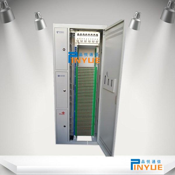 576芯三网合一ODF光纤配线架配置安装