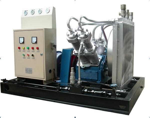 氣瓶檢測氣密性試驗設備 高壓空氣壓縮機