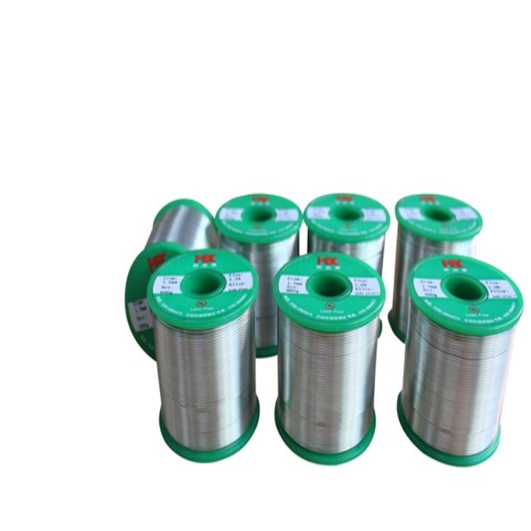 無鉛焊錫絲采用高純度錫等金屬原料 經過特殊的制造工藝生產而成