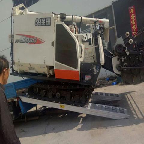 久达大象牌4米长强度防滑型收割机铝梯