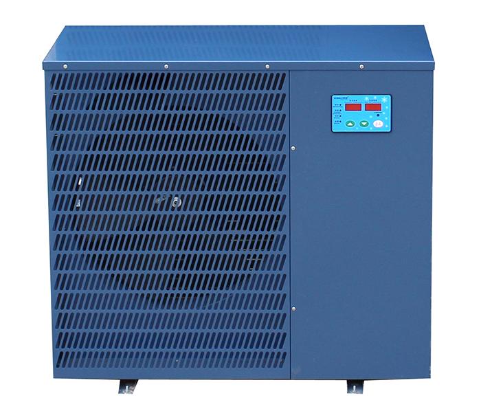 渔悦 空气能热泵 机组 10HP 空气能冷水机 水产热泵