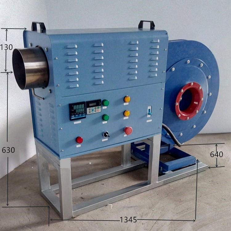 ***訂做大功率中藥材烘干熱風機 高壓型熱風機