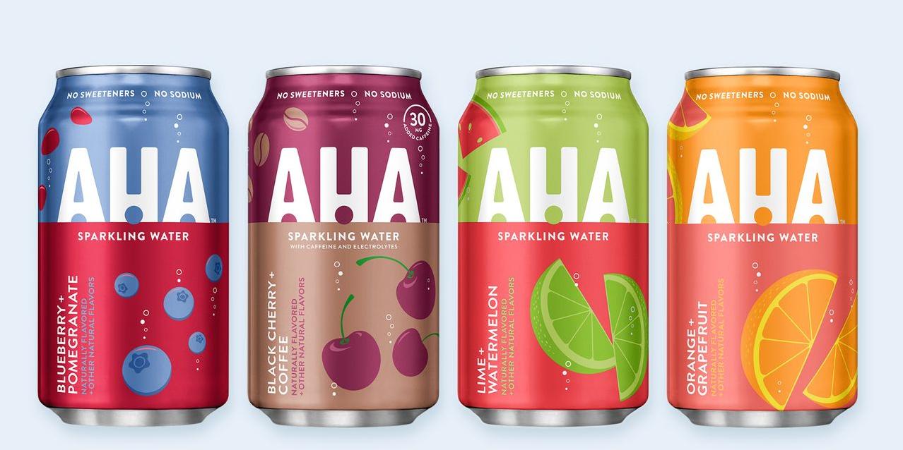 可口可乐推出含咖啡因气泡水品牌AHA,与百事开展竞争