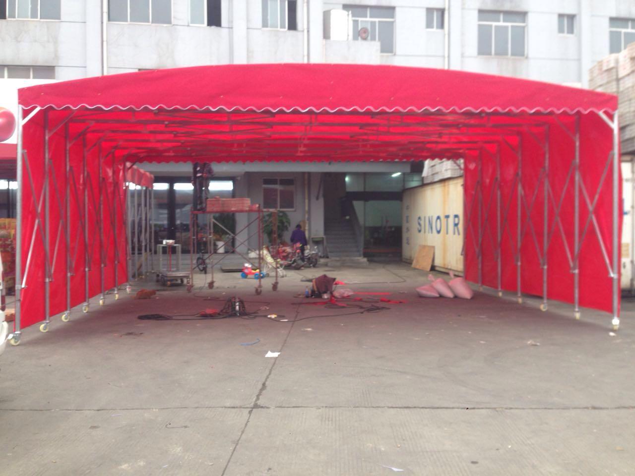 淮安移动雨棚 移动雨蓬 移动雨篷多少钱一平方