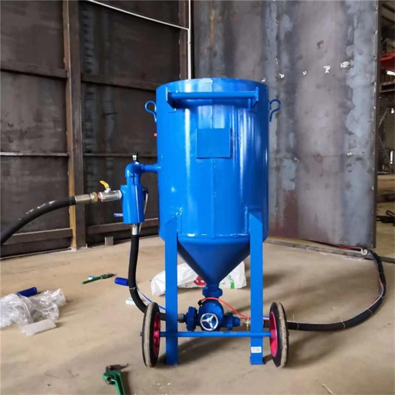 塔吊除锈翻新水喷砂机
