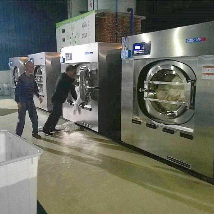 醫院床單衣服大型洗衣房洗滌設備醫療隔離式醫院用洗衣機