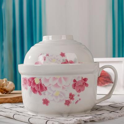 厂家***陶瓷保鲜碗 烤箱可用保鲜盒密封碗 保鲜碗