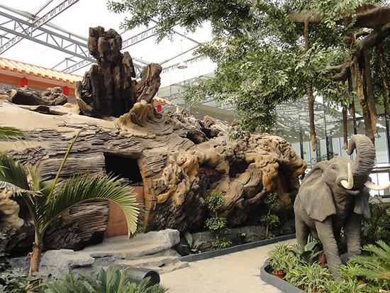 蔚县哪里有做假树的_***山假树制作_公园假树制作