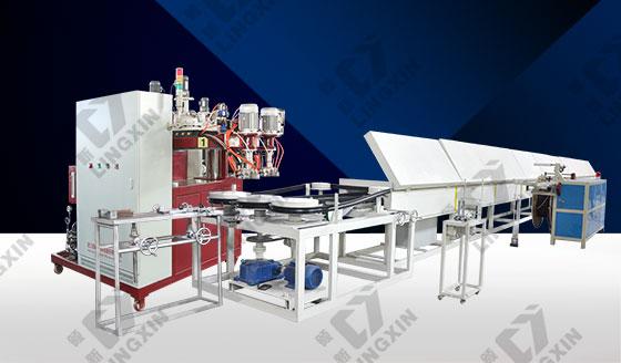 聚氨酯PU包覆式密封条浇注机