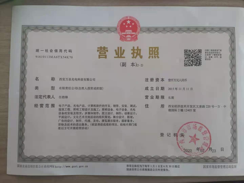 企業基本資格證書
