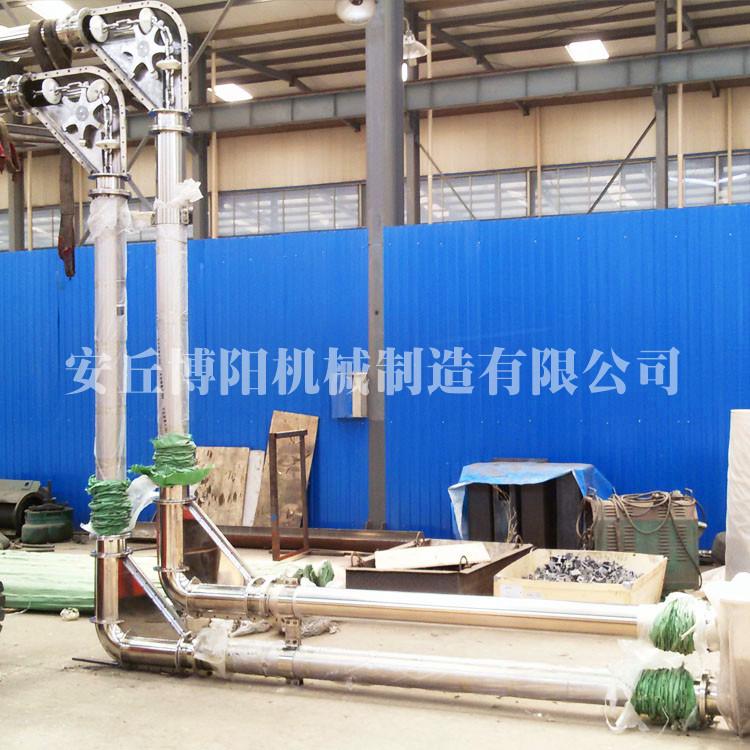 黑龍江鐵粉管鏈輸送設備   可定制管鏈式粉體輸送機