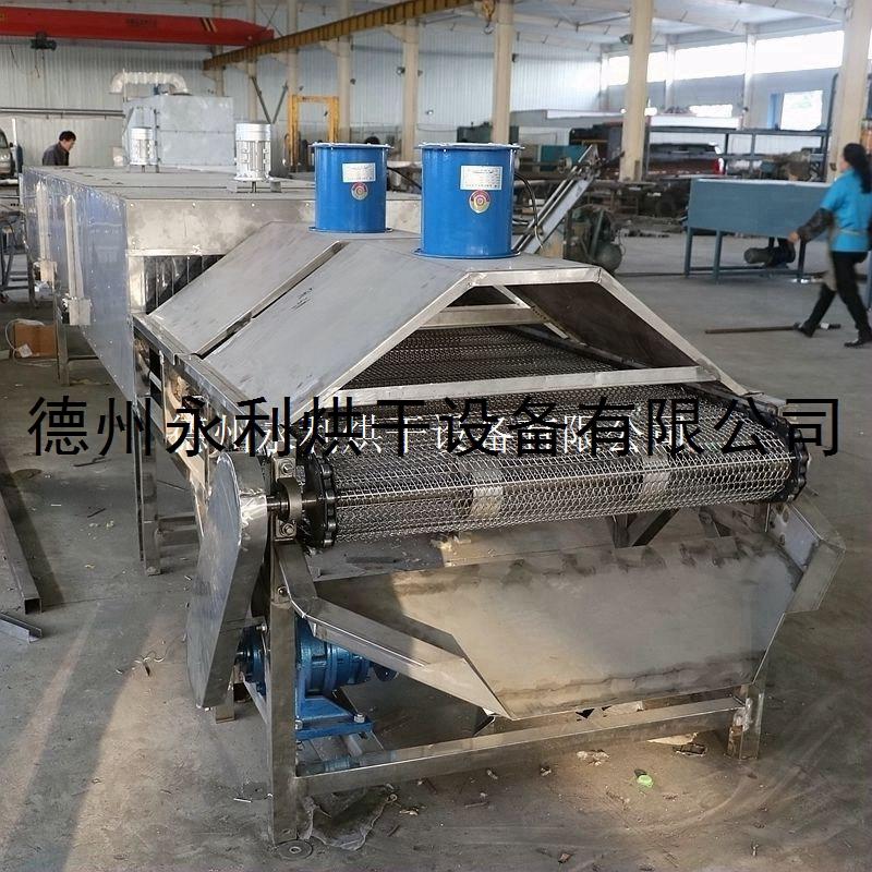 帶式熱風烘干機 小型不銹鋼棗核干燥設備 歡迎來電詳詢