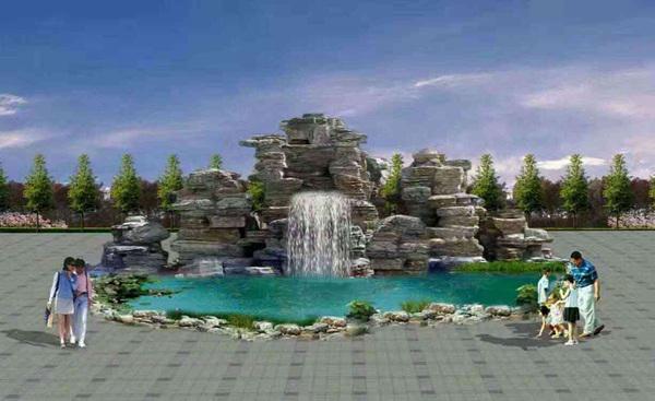 同江市假树厂家假树景观供应 同江市水泥假树兴超景观