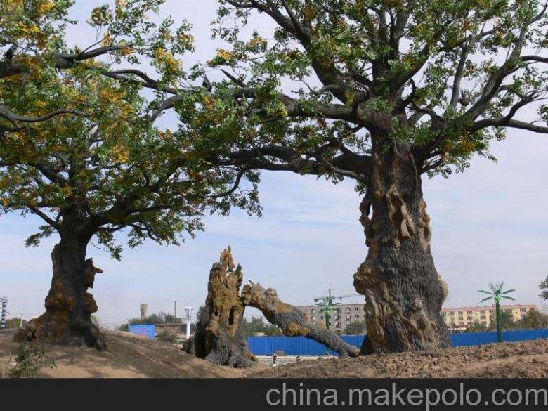 枣强县假树厂家酒店假树图片 枣强县水泥假树产地