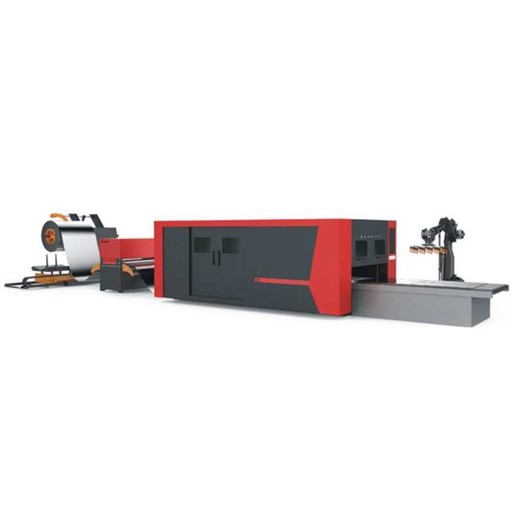 全自动送料激光切割机 卷板材料加工 激光切割方案服务商