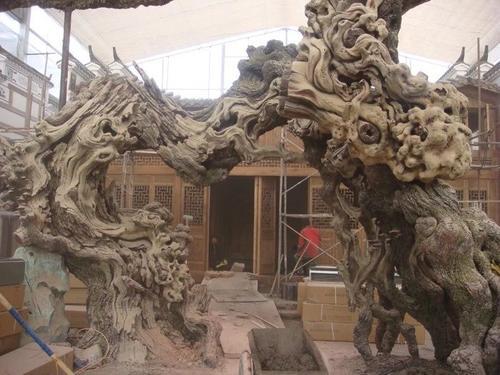 望花假树厂家水泥榕树价格 望花水泥假树制作厂家