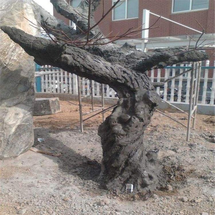 墾利縣假樹廠家主題餐廳假樹施工隊 墾利縣水泥假樹可安裝施工