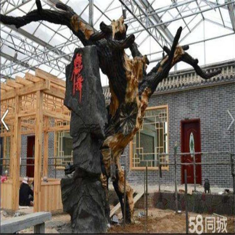 槐荫假树厂家景区假树定制 槐荫水泥假树可安装施工