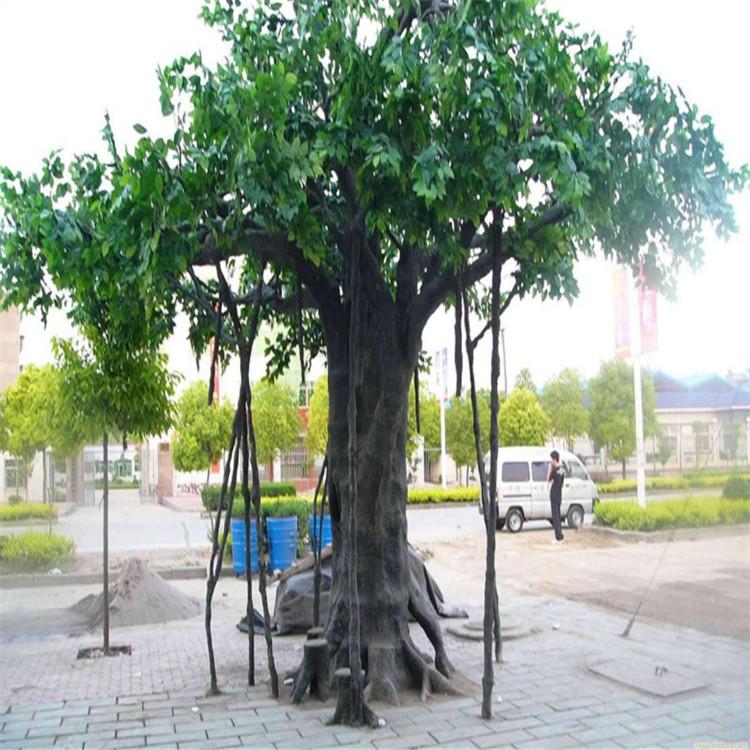 滴道假樹廠家小區假樹供應 滴道水泥假樹產地