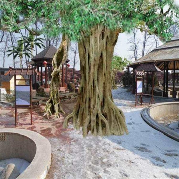 辛集市假樹廠家農家樂假樹公司 辛集市水泥假樹批發設計