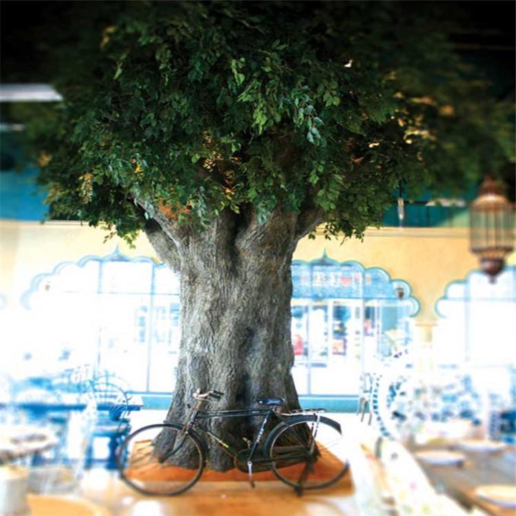 双塔假树厂家小区假树批发 双塔水泥假树兴超