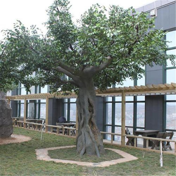文水縣假樹廠家景區假樹設計 文水縣水泥假樹施工安裝